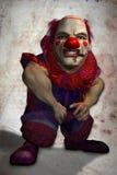плохой клоун Стоковая Фотография