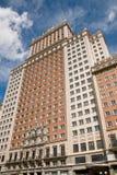 площадь здания de espana madrid самомоднейшая Стоковая Фотография