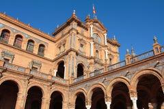 площадь памятника de espana Стоковая Фотография