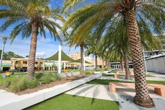 Площадь рыцарей в университете  центральной Флориды Стоковое фото RF