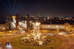 площадь barcelona espana Стоковое Изображение RF