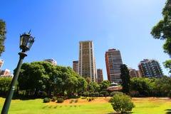 Площадь Barrancas de Belgrano в Buenos Aires Стоковые Фото