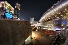 Площадь DDP дизайна Dongdaemun в Сеуле, Южной Корее стоковое изображение