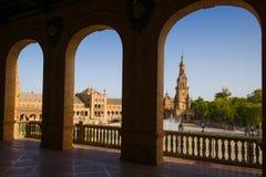 Площадь de España Стоковое Изображение