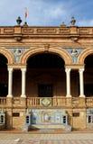 площадь de espana известная Стоковая Фотография RF