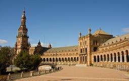площадь de espana Стоковое Фото