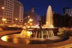 площадь de espana Стоковые Фото