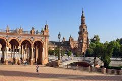 площадь de espana Стоковое фото RF