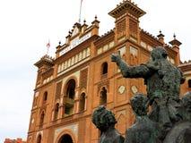 Площадь de Toros Мадрид Стоковые Фото