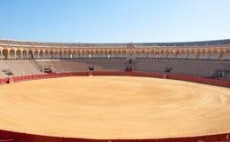 Площадь de toros en sevilla стоковое изображение