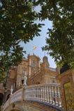 площадь seville Испания de espana Стоковые Фотографии RF