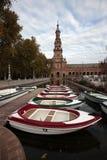 площадь seville Испания de espania Стоковая Фотография RF