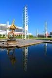 площадь international Georgia Стоковая Фотография