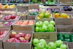 плодоовощ коробок Стоковая Фотография RF