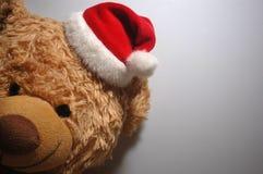 Плюшевый медвежонок Санты Стоковые Изображения RF