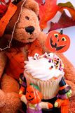 Плюшевый медвежонок Halloween Стоковые Изображения
