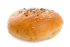 Плюшка гамбургера стоковое фото rf