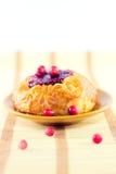 плюшка ягод Стоковое фото RF
