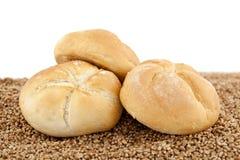 плюшка crunchy стоковое изображение