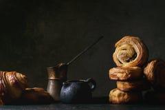 Плюшки печенья слойки стоковая фотография rf
