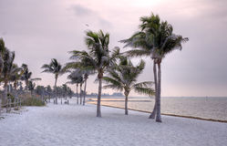 пляжи ключевой ослабляя s на запад Стоковая Фотография RF