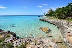 Пляжи коралла в Кубе Стоковые Изображения