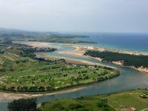пляжи Стоковые Фотографии RF