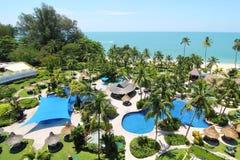 пляжный комплекс тропический