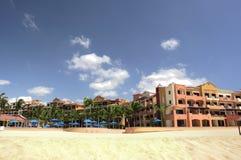пляжный комплекс Стоковые Изображения RF