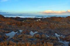 Пляж Австралия диаманта к пункту Wallabi стоковые фото