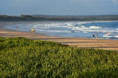 Пляж Австралия диаманта стоковое фото