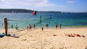 Пляж акулы, парк Нильсена, Воклюз, Сидней, Австралия Стоковая Фотография
