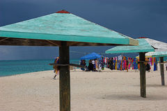 пляж Антигуы Стоковые Изображения RF
