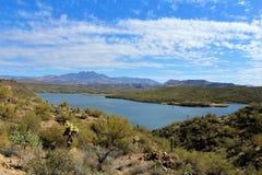 Пляж Аризона Джонса мясника, национальный лес Tonto стоковые изображения rf