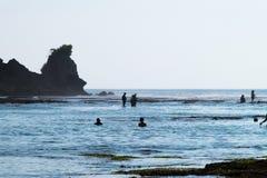 Пляж Бали - Индонезия Impossibles Стоковые Изображения RF