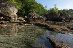 Пляж Бали - Индонезия Impossibles Стоковые Изображения