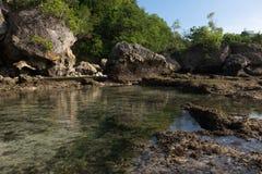 Пляж Бали - Индонезия Impossibles Стоковые Фотографии RF