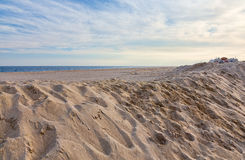 Пляж берега Джерси Стоковые Фото