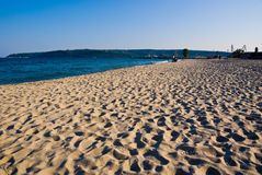 пляж Болгария песочная Стоковая Фотография