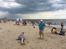 Пляж Брайтона Стоковое Фото