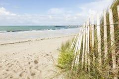 Пляж Бретани на Porz Meur, Finistere Стоковое Изображение RF