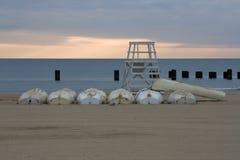 пляж бульвара северный Стоковые Изображения RF