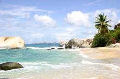 пляж ванн Стоковые Изображения