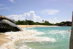 пляж ванн Стоковое Изображение RF