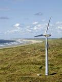 пляж ветреный Стоковое Изображение RF