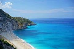 Пляж & волны Стоковое Фото