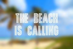 пляж вызывать стоковое фото