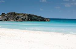 Пляж в Бермуде Стоковые Фотографии RF