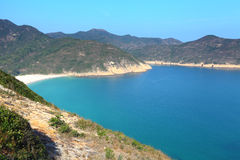 Пляж в Гонконге стоковое фото