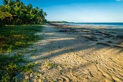 Пляж в пляже полета в Квинсленде, Австралии стоковые изображения rf